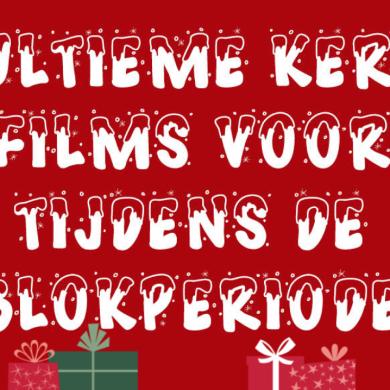 poster kerstfilms