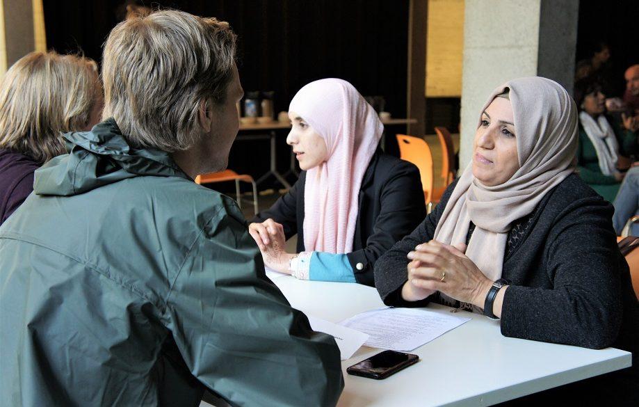 Van links naar rechts: Seppe Frans, Fatima