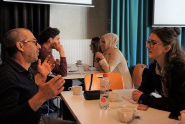 Van links naar rechts: Mohamad Alhussein, Jana Huysmans