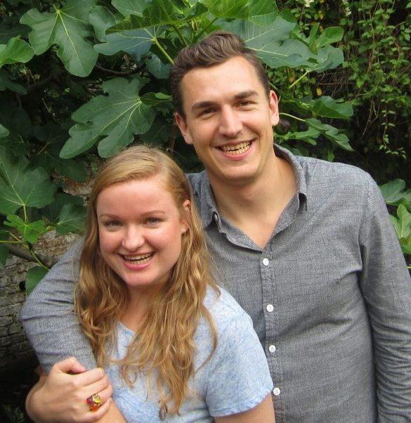 Laura Vansweevelt en Rogier Verschueren