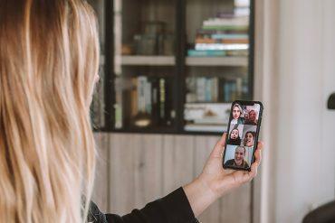 FaceTimen met de vriendinnen