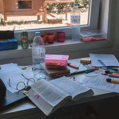 Werken aan het bureau