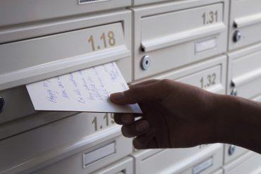 Brief ontvangen