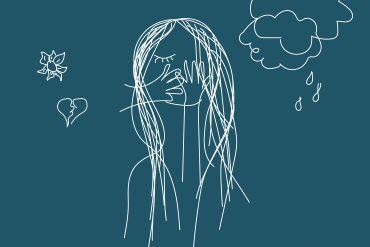 Illustratie van SIgrid, het hoofdpersonage