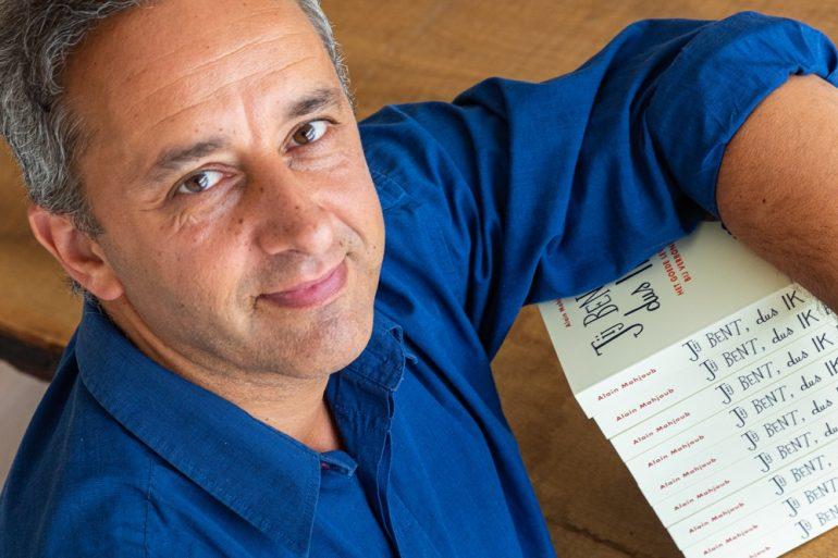 Alain Mahjoub gefotografeerd door Luk Collet