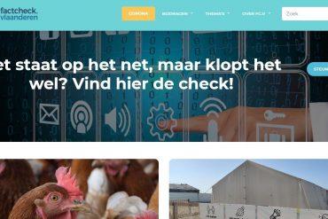 Nooit meer fake news met Factcheck.Vlaanderen