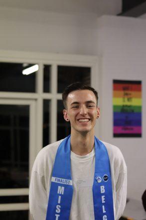 Joren Houtevels is de nieuwe Mister Gay Belgium 2020