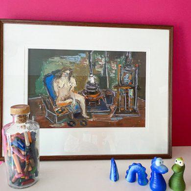 Fonds Delphine Van Saksen-Coburg steunt patiënten UZ Gent met kunst
