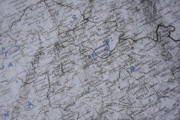 Kaart van Servië