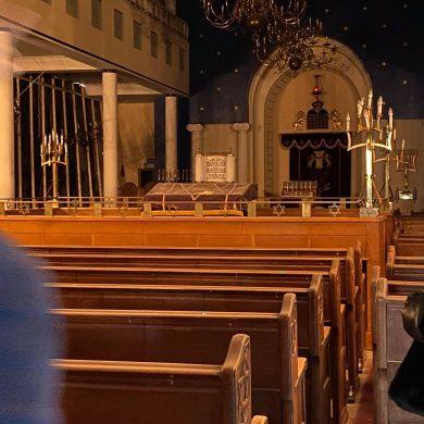 Volledig lege synagoge in Antwerpen