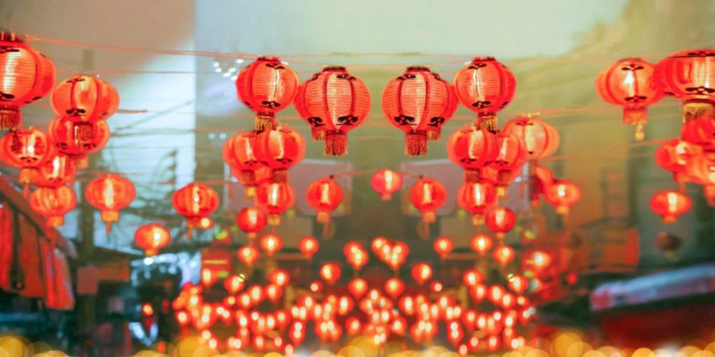 Sfeer van Chinees Nieuwjaar