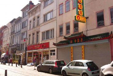 Chinatown supermarkt en restaurant