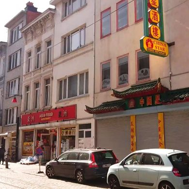 Chinatown supermarkt en restaurant