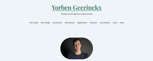 Portfolio Yorben Geerinckx
